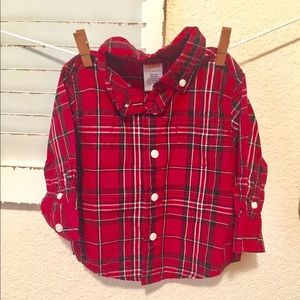 Gymboree 6 to 12 months button down top